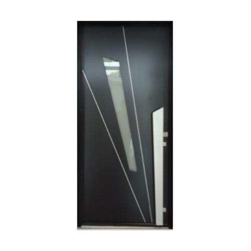 Portes d entr e aluminium k line dps ouverture - K line porte d entree ...