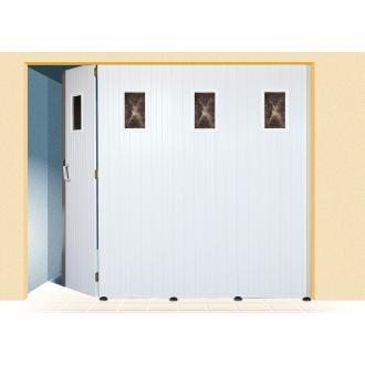 Porte de garage coulissante dps ouverture for Porte de garage basculante sans rail de guidage au plafond