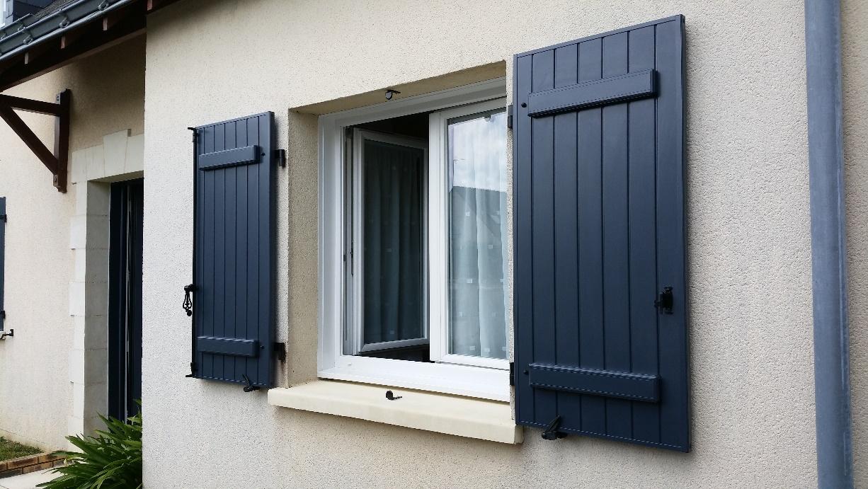 volet battant aluminium dps ouverture. Black Bedroom Furniture Sets. Home Design Ideas