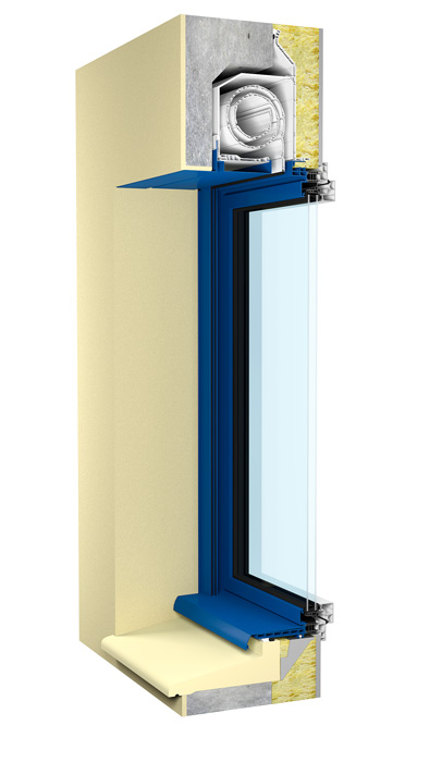volet roulant pour la construction neuve dps ouverture. Black Bedroom Furniture Sets. Home Design Ideas
